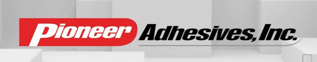 Pioneer Adhesives, Inc. banner