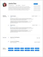 Free Resume Template To Edit Download Bossjob Ph